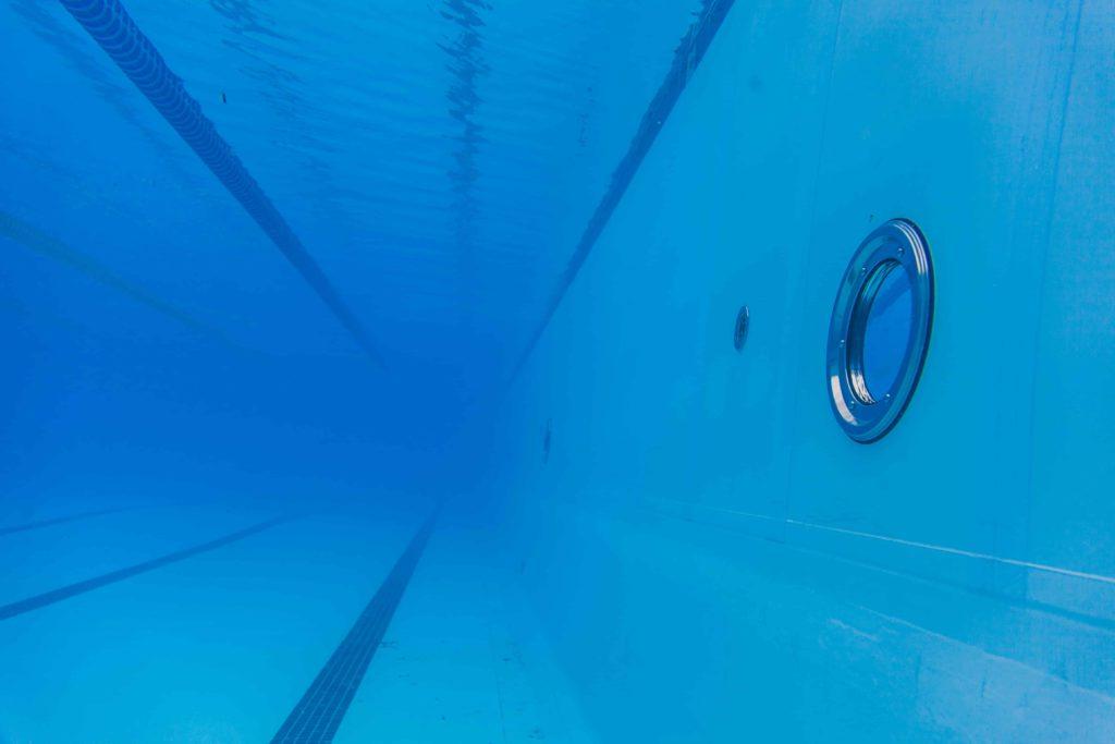 Олимпийский бассейн изнутри